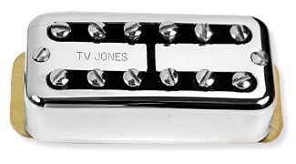 Tv Jones Ring Gretsch Style With Screws EM2 Silver